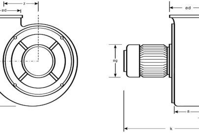 Ventilator AV 10, AV 20, AV 30, AV 40