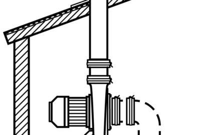 Überdach-Ausblas-Set