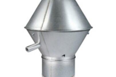 Deflektrohaube für Lüftungsanlage