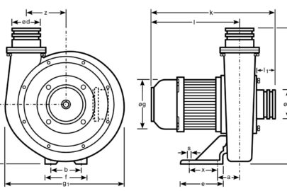 Mitteldruck-Radialventiator