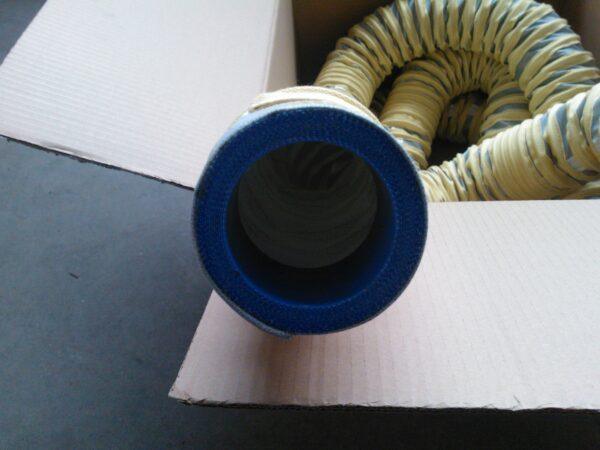 MAGETA-Schlauch für erhöhte Temperatur NW 100 mit Muffe NW 76