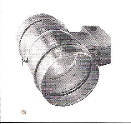 Absperrklappe Motor-Schlauchaufroller